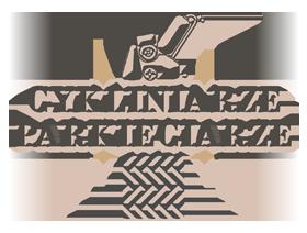 cykliniarze parkieciarze logo cykliniarka parkiet