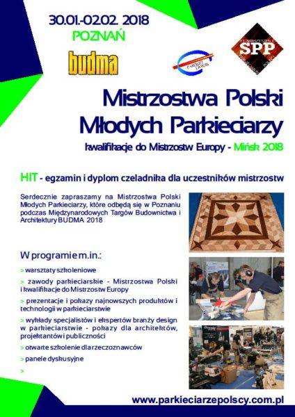 Mistrzostwa  młodych parkieciarzy – Poznań 2018