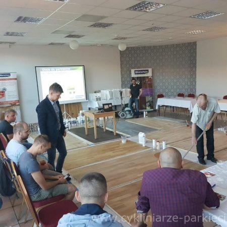 Szkolenie parkieciarskie Blanchon – Wrocław obrazek cykliniarze parkieciarze