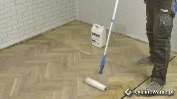 cyklinowanie parkietu – olejowanie podłogi dębowej cz. 3/3 cykliniarze parkieciarze zdjecie