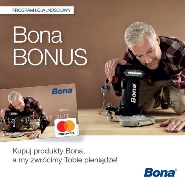 BONA Bonus – Program lojalnościowy dla  parkieciarzy i cykliniarzy