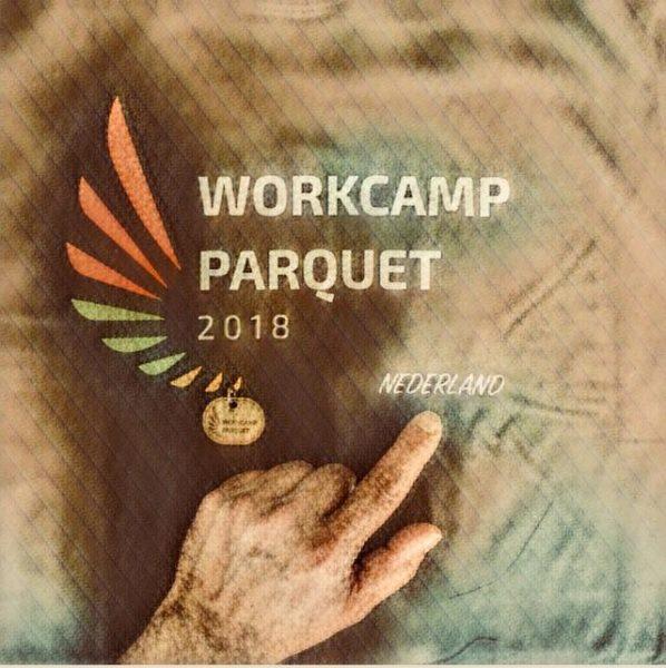 Workcamp Parquet 2018 Nederland cykliniarze parkieciarze zdjecie