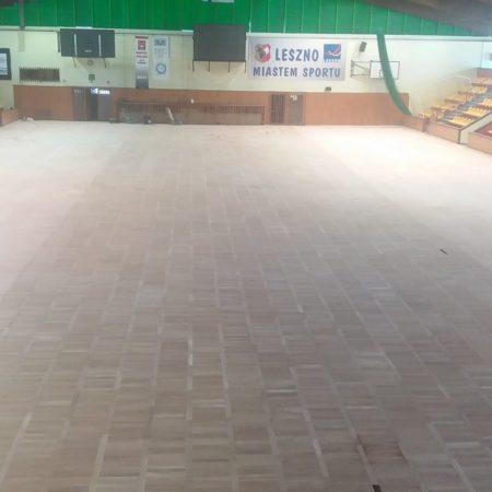 wycyklinowana sala sportowa