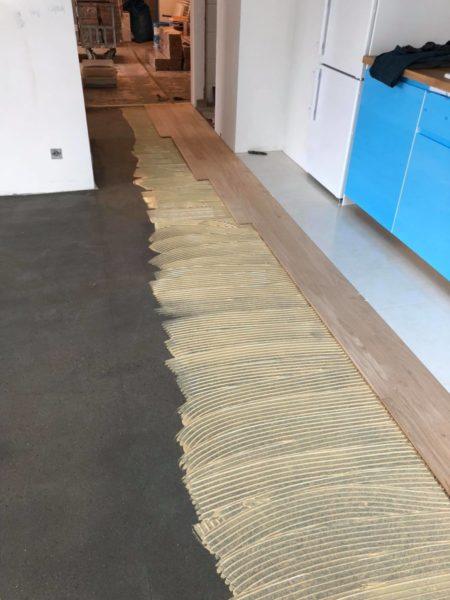 Układanie podłogi w Warszawie