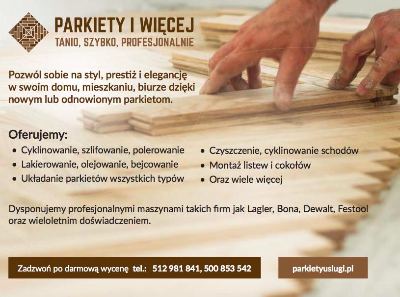 Renowacja podłóg i schodów drewnianych, montaż nowych podłóg cykliniarze parkieciarze zdjecie