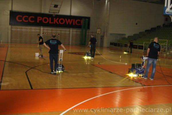 Utwardzanie na 4 maszyny !!! pierwsze w Polsce
