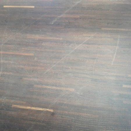 mozaika wenge przed konserwacją