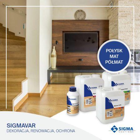 Nowe  lakiery  SIGMAVAR od Sigma Coatings obrazek cykliniarze parkieciarze aktualnosci