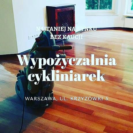 Wypożyczalnia cykliniarek Warszawa. Cykliniarki taśmowe, planetarne, orbitalne. Bez kaucji. cykliniarze parkieciarze zdjecie
