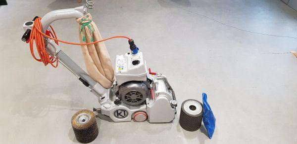 Cykliniarka taśmowa – szczotkarka Bona Belt HD 2,2 kw cykliniarze parkieciarze zdjecie