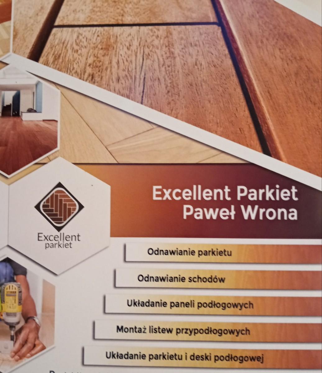 Excellent Parkiet Paweł Wrona cykliniarze parkieciarze zdjecie