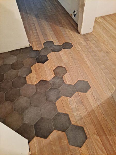 Łączenia heksagonalne