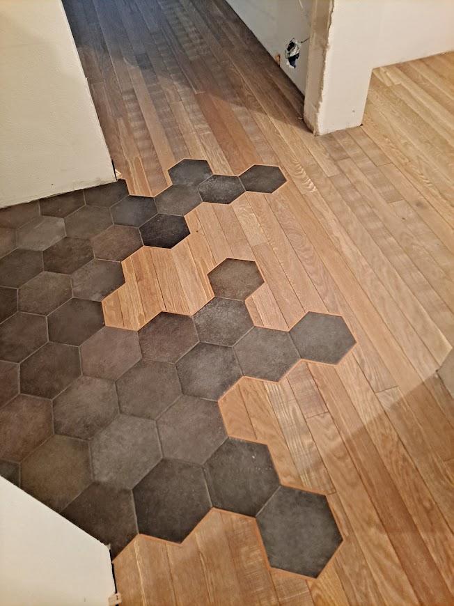 Łączenia heksagonalne obrazek cykliniarze parkieciarze aktualnosci